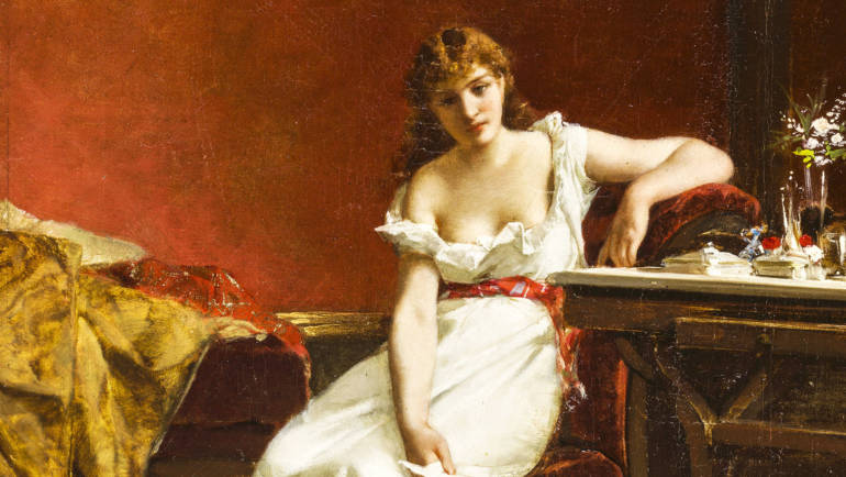 Amos Cassioli, pittore purista. Il catalogo della mostra a cura di Francesca Petrucci