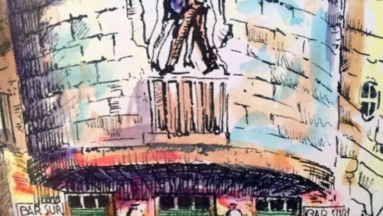 """La Nazione Siena: Ciancone visto da Brenci. """"Bar Sur""""  libro della settimana"""