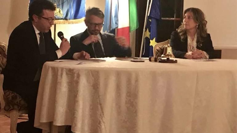 Francesco Ricci al Rotary Club Montaperti a parlare di giovani